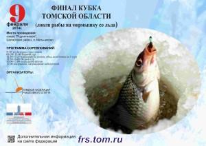 Листовка Кубок области мормышка 2 02 2014 А3