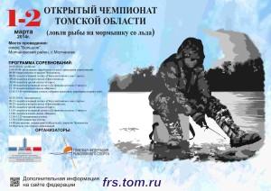 Листовка Чемпионат области мормышка 2 03 2014 А3